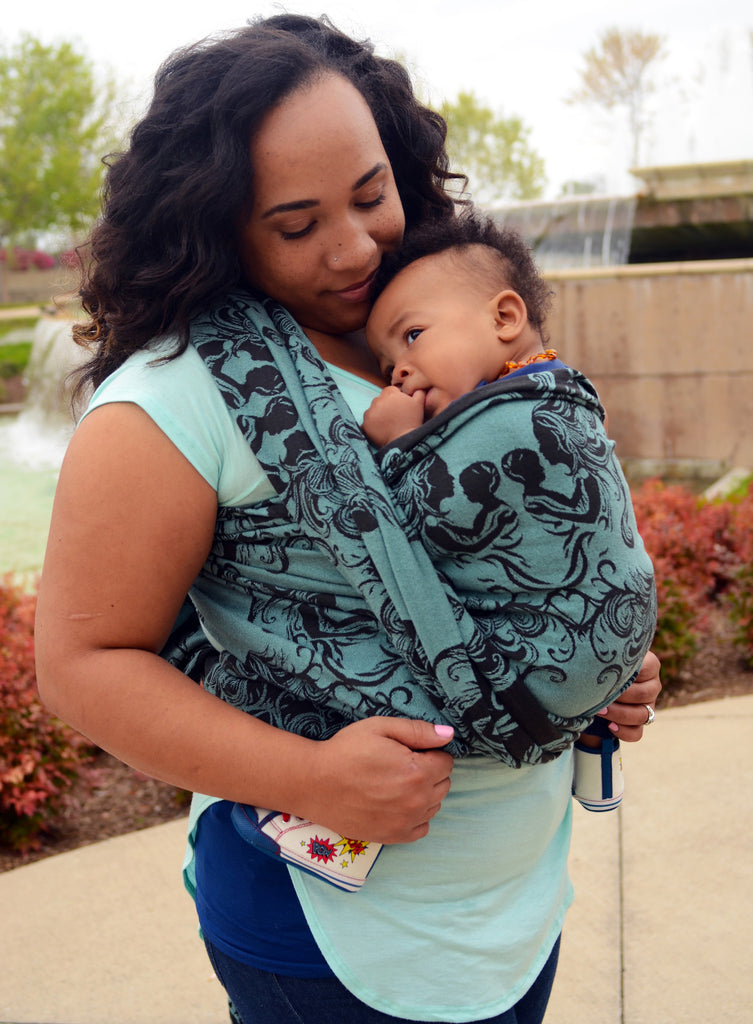 Smitten with Wovens Fostering Love - Charity cotton baby wrap
