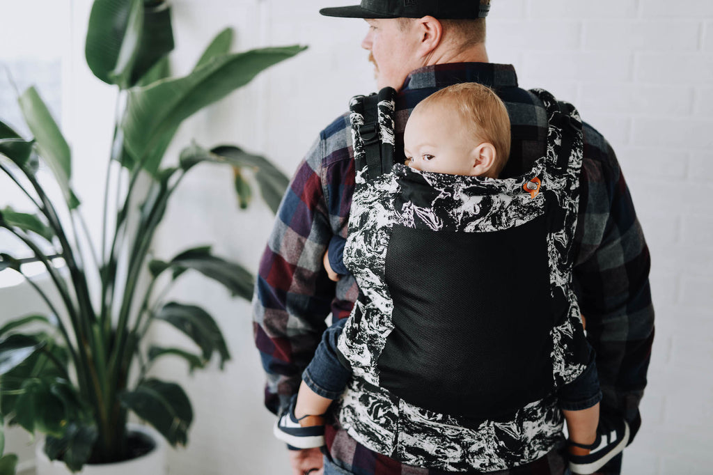 Tula Coast Free-to-Grow Baby Carrier - Marble