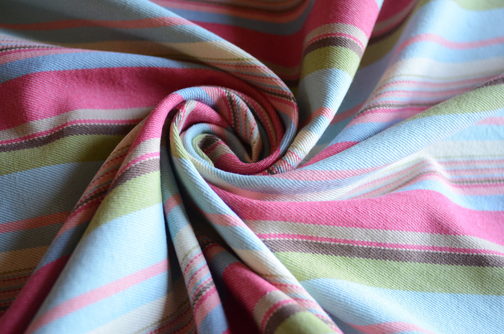 Watermelon Jubilee Smitten With Wovens Cotton baby wrap