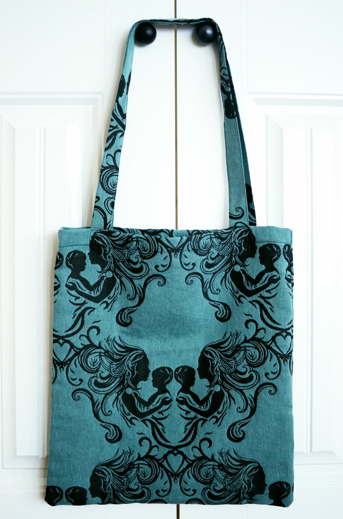 Fostering Love - Charity TOTE BAG Smitten With Wovens cotton