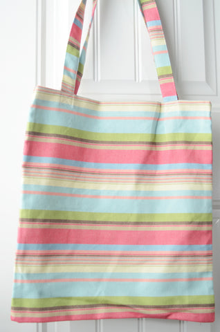 Smitten with Wovens Watermelon - Jubilee TOTE BAG cotton