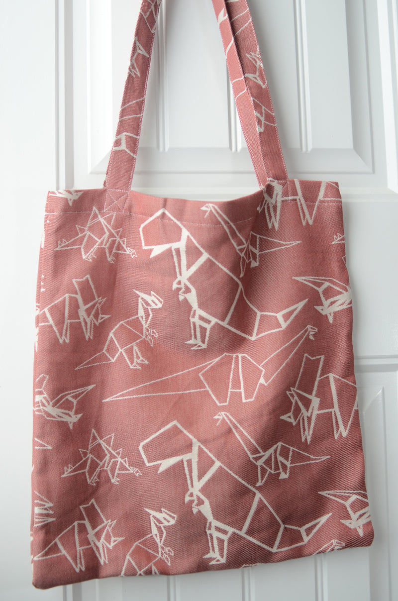 Smitten With Wovens Gertie - Cretaceous TOTE BAG