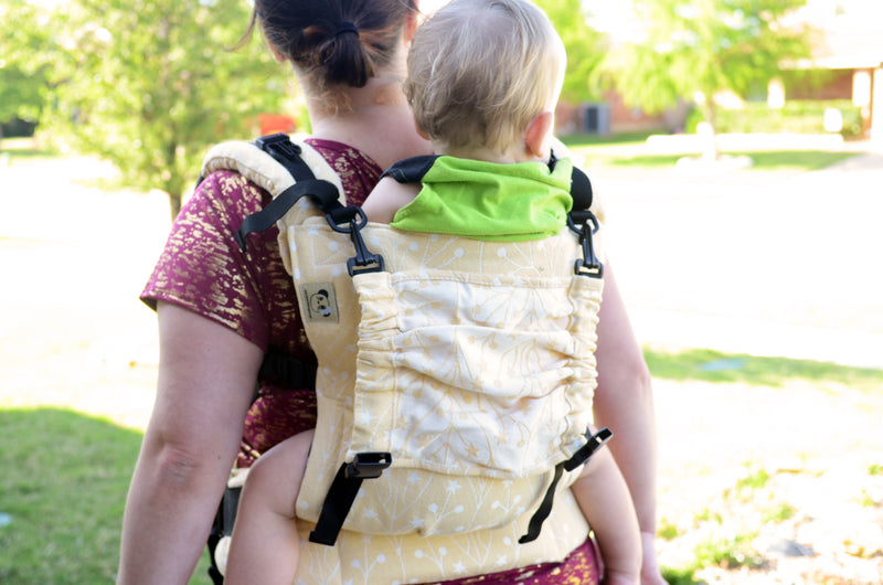 Naked Panda Designs Soft Structured Carrier Smitten Tala Tara FULL WRAP CONVERSION