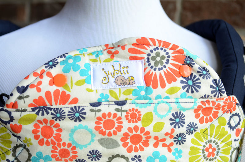 Jublii Creations Soft Structured Carrier - Flowering Field
