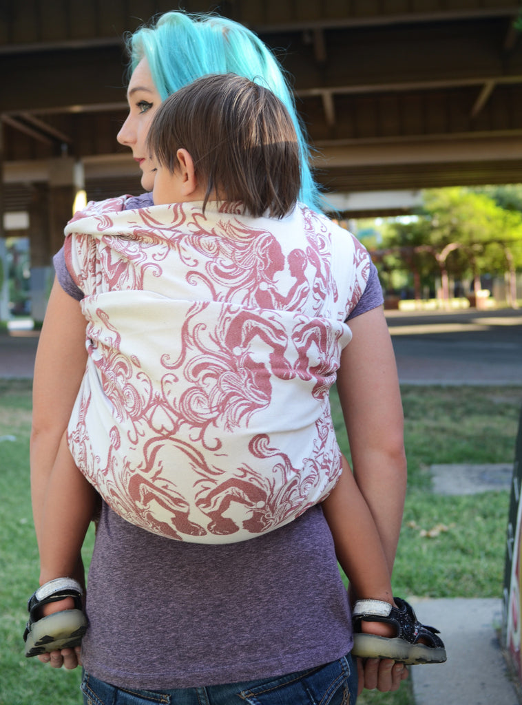 Smitten with Wovens Fostering Love - Comfort baby wrap