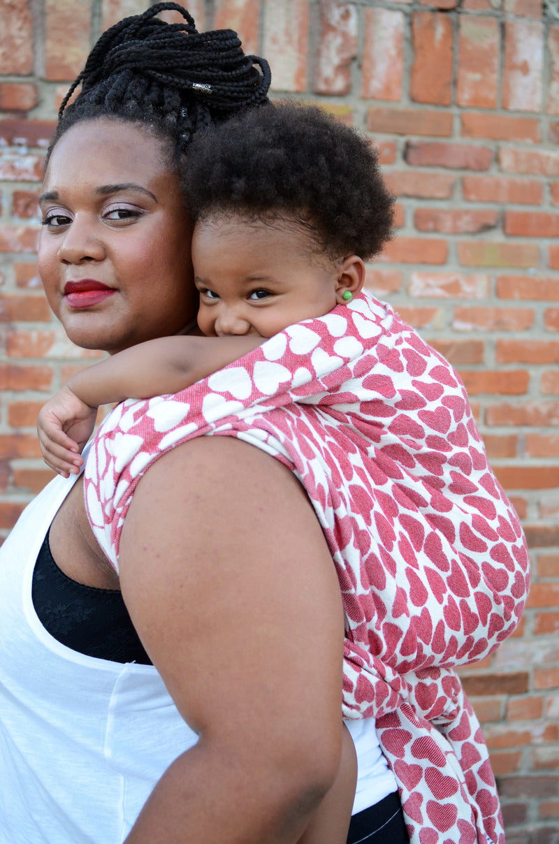 Smitten with wovens Vena Cava - Warrior (tencel blend) baby wrap