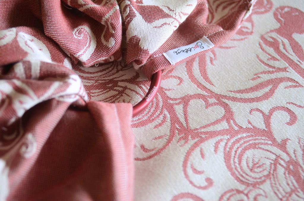 Smitten with Wovens Fostering Love - Comfort Ring Sling