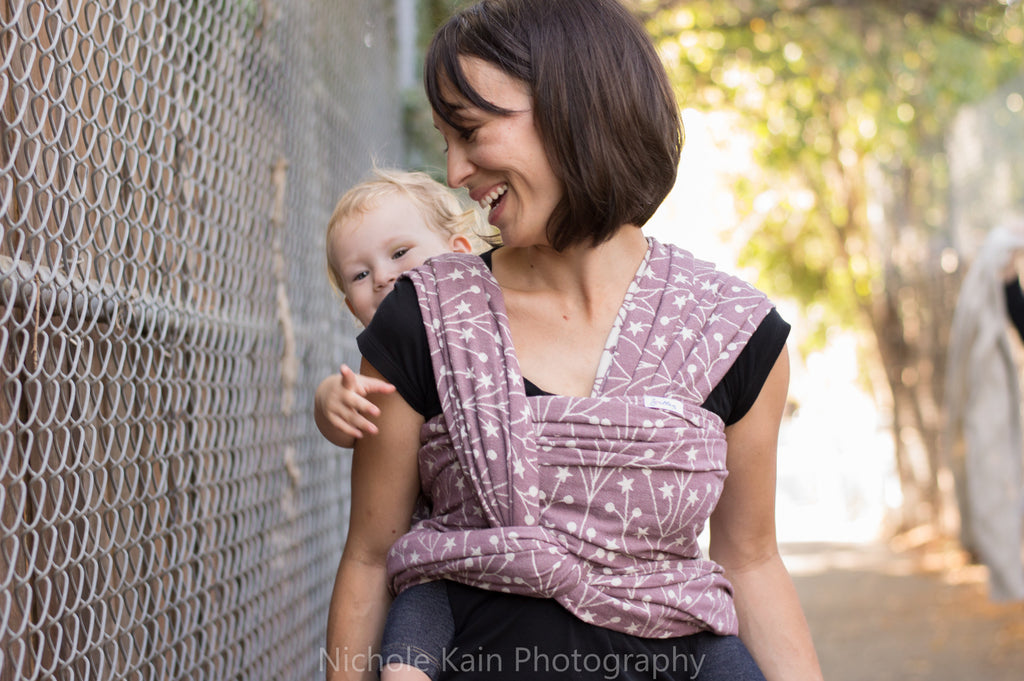 Smitten Tala Seren cotton baby toddler wrap