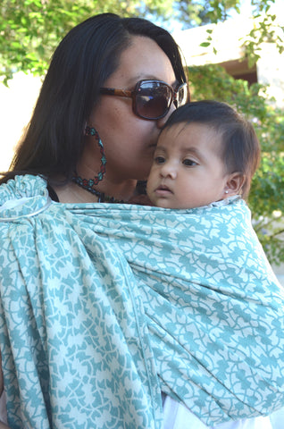 Yaro Ivy Emerald Wrap (cotton)