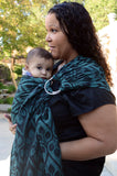 Yaro La Vita Emerald Black Ring Sling (cotton)