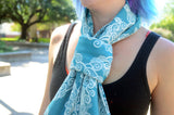 Smitten with Wovens Sail Away with Me - Mediterranean Scarf