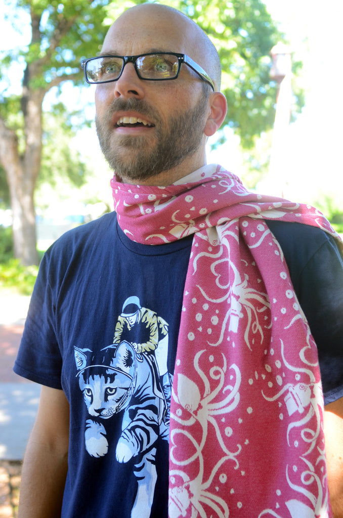 Smitten with Wovens Cephalabration - Love Octually Scarf