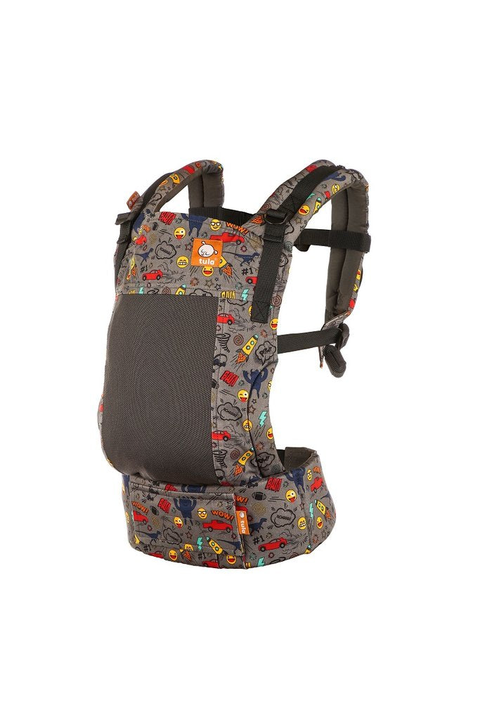 Tula Coast Free-to-Grow Baby Carrier - Stamps