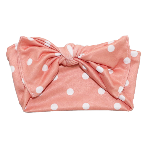 Bumblito Headband (Children Size) Pretty in Pink Polka Dots