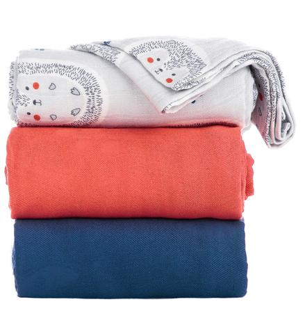 Tula Blanket Set Hedgehogs