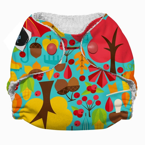 Imagine 2.0 Newborn Bamboo All-In-One Cloth Diaper harvest fest