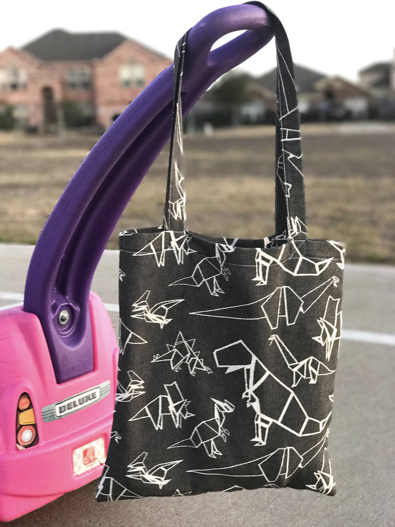 Smitten with Wovens Gertie - Triassic TOTE BAG Made in America