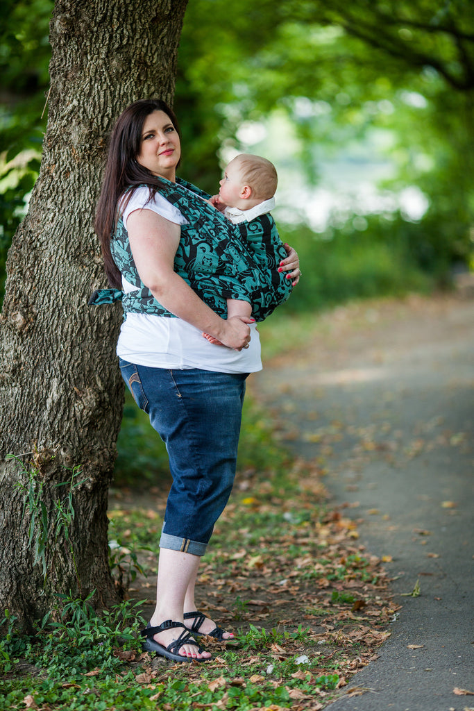 Smitten with wovens Soren - Stix baby wrap