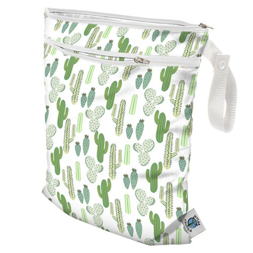 Planet Wise Wet Dry Bags Prickly Cactus
