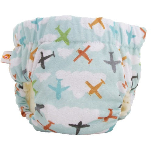 Smart Bottoms Lil' Trainer Potty Training Diaper Taking Flight