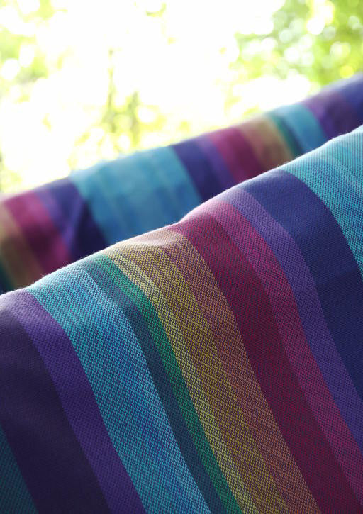 Vanamo Spectra Purple Woven Wrap (organic cotton)