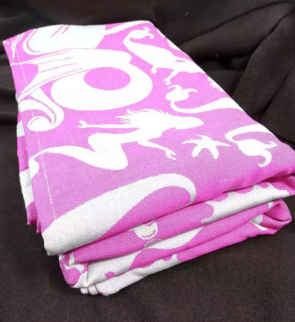 Fidella Sirens Raspberry Wrap (organic cotton)