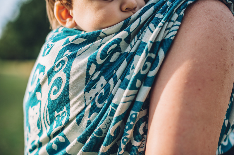Smitten with Wovens Soren - Alba baby wrap mercerized cotton