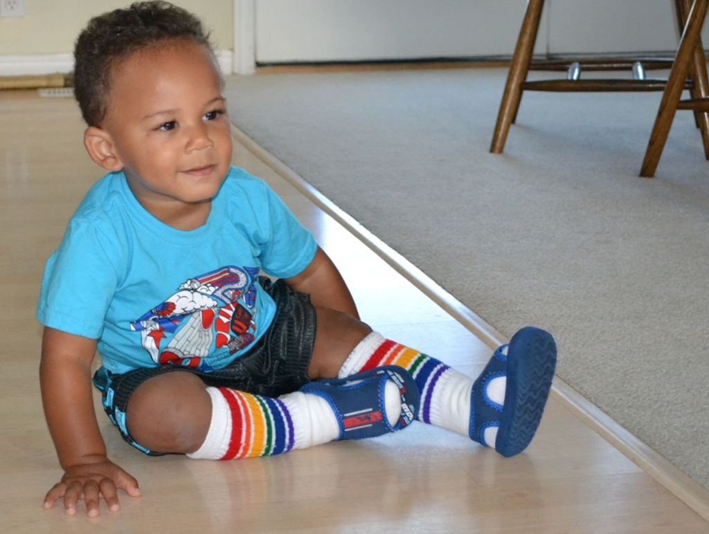 Pride Socks Toddler/Kids Tube Socks Socks - Fearless