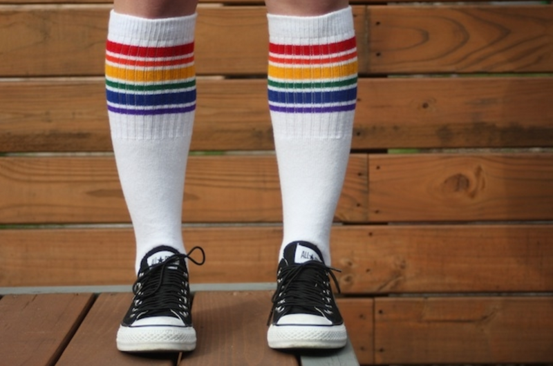 Pride Socks Unisex Tube Socks - Fearless