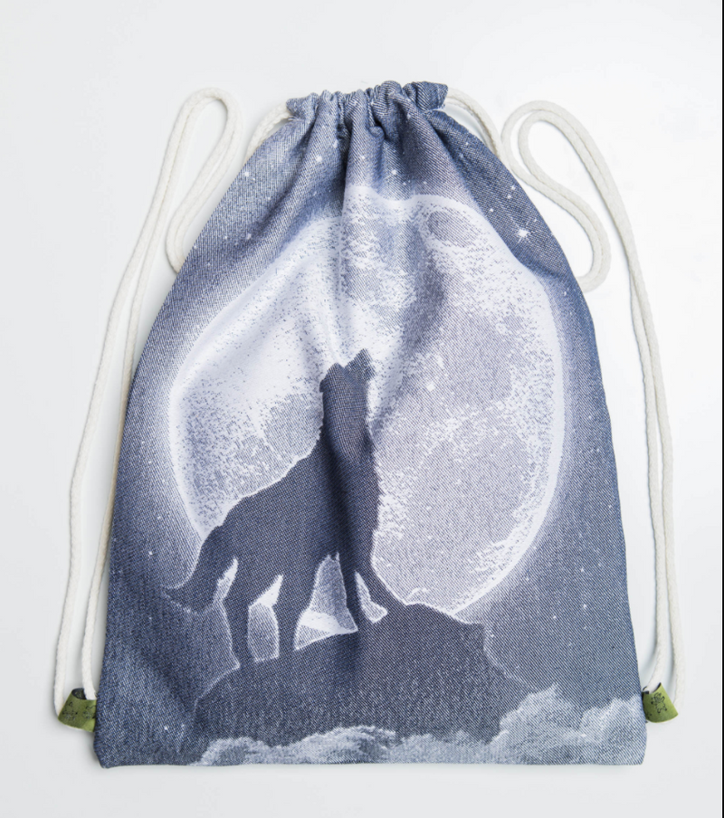 Lenny Lamb Moonlight Wolf Sackpack