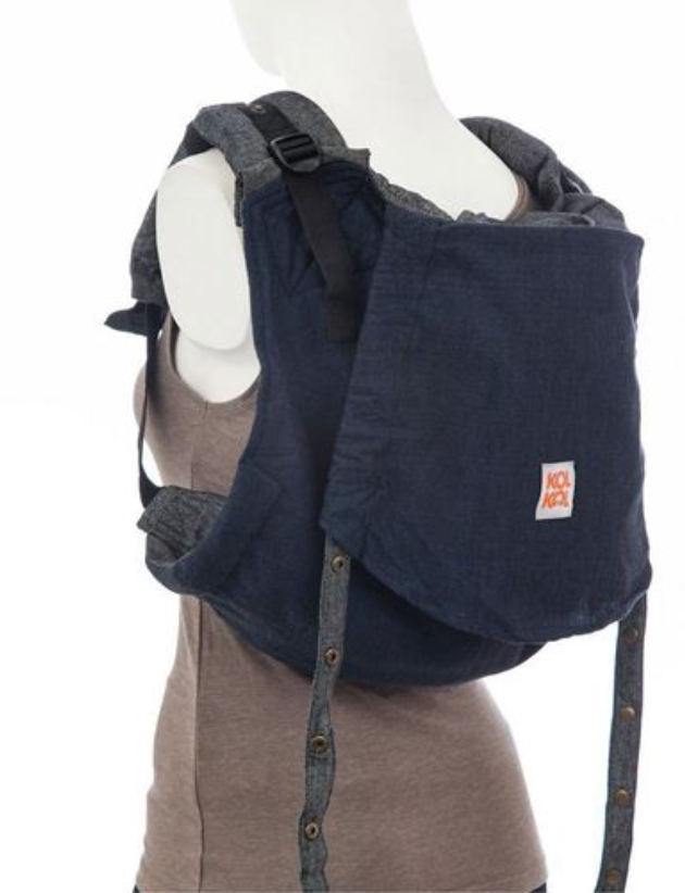Kol Kol Denim Onbuhimo for Toddlers