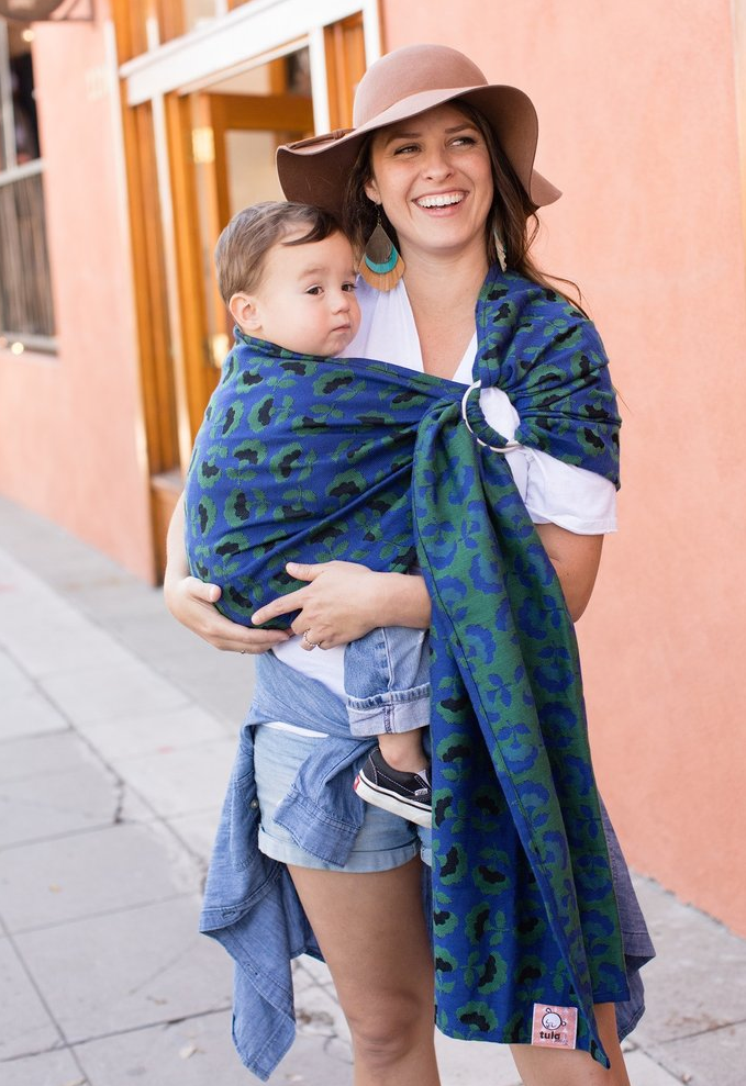 Tula Wovens Dorothy Emerald City Wrap Conversion Ring Sling