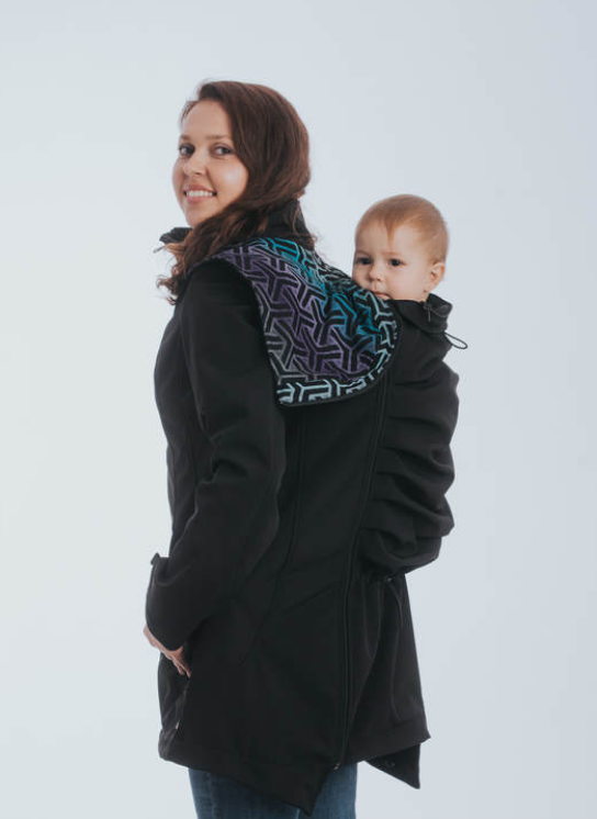 Lenny Lamb Soft Shell Babywearing Coat (water resistant)