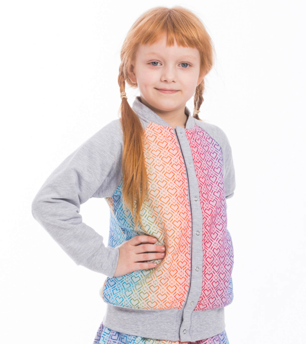 Lenny Lamb Childrens Bomber Big Love Rainbow LennyBomber