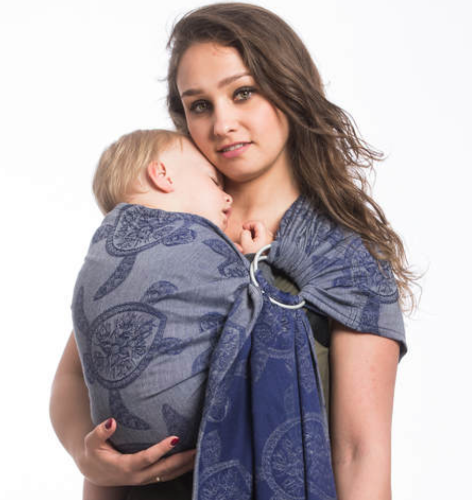 Lenny Lamb Sea Adventure Calm Bay Ring Sling