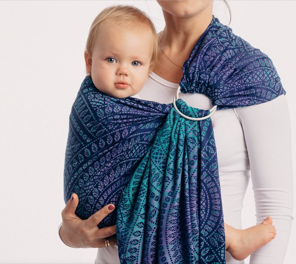 Lenny Lamb Peacock's Tail Provance Ring Sling