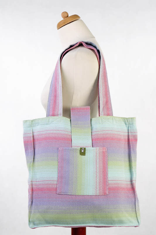 Lenny Lamb Shoulder bag Little Herringbone Impression