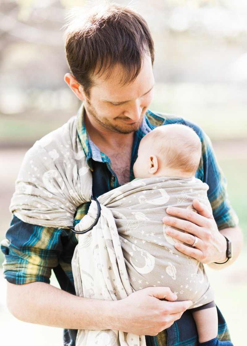 Smitten with Wovens Dream Weaver - North Star Ring Sling
