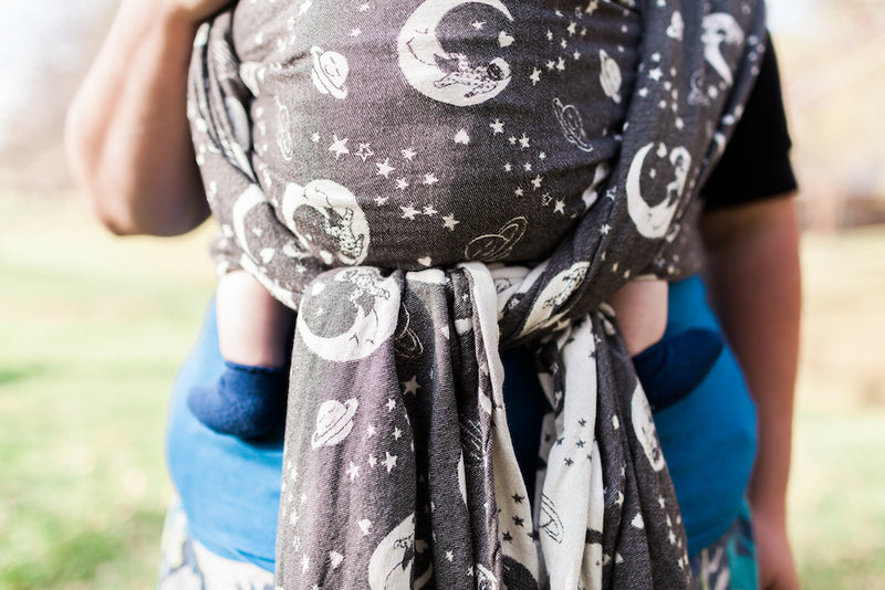 Smitten with Wovens Dream Weaver - Corvus Babywearing Wrap