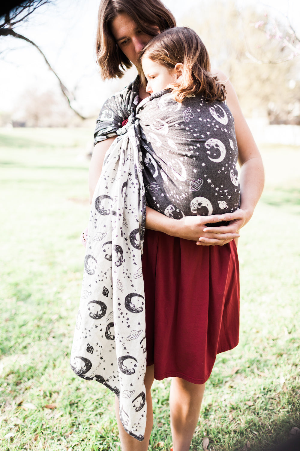 Smitten with Wovens Dream Weaver - Corvus Ring Sling