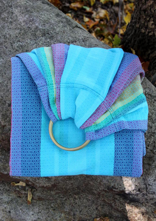 Vanamo Spectra Blue Diamond Ring Sling (organic cotton)
