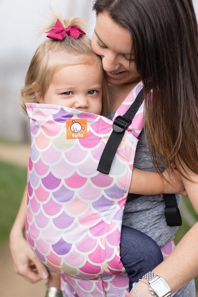 Tula Free-To-Grow Baby Carrier - Syrena Sea