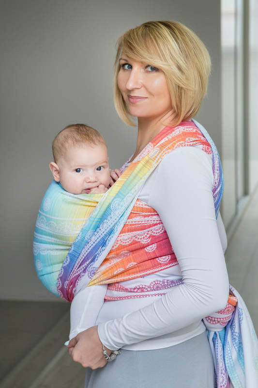 Lenny Lamb Rainbow Lace Wrap (cotton)