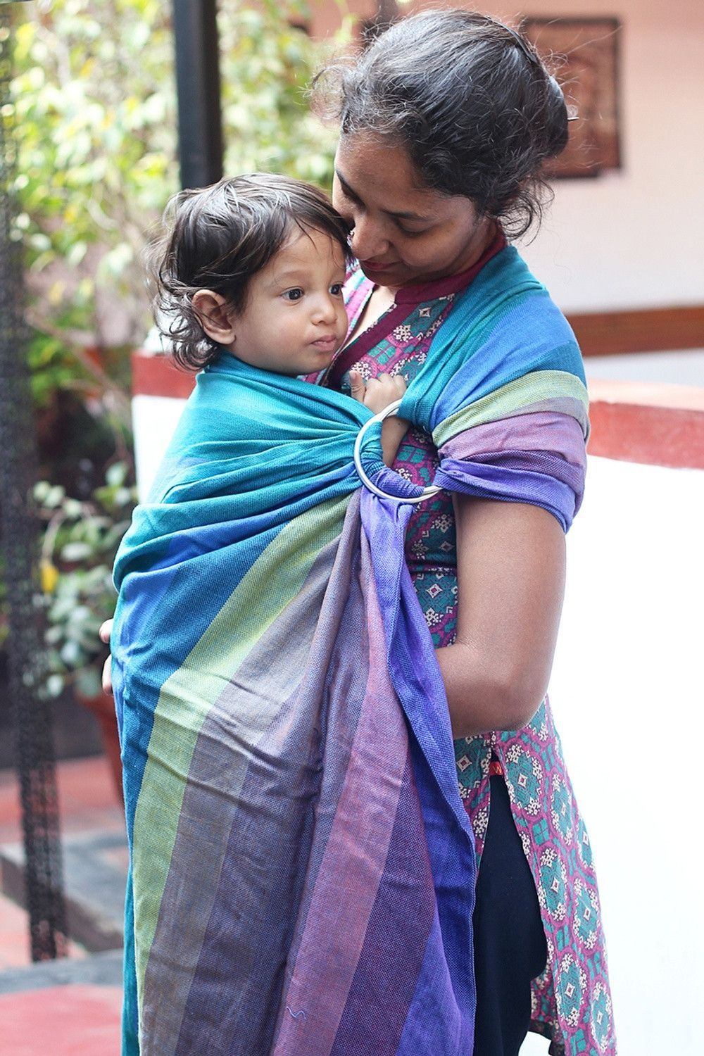 Soul Slings Prism Love Handwoven Wrap Conversion Ring Sling (cotton)