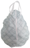 Smart Bottoms Hanging Wet Bag Aqua Waves Made in the US