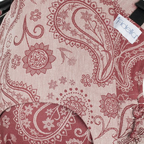 Fidella Paisley Ruby Red Fusion Soft Structured Carrier