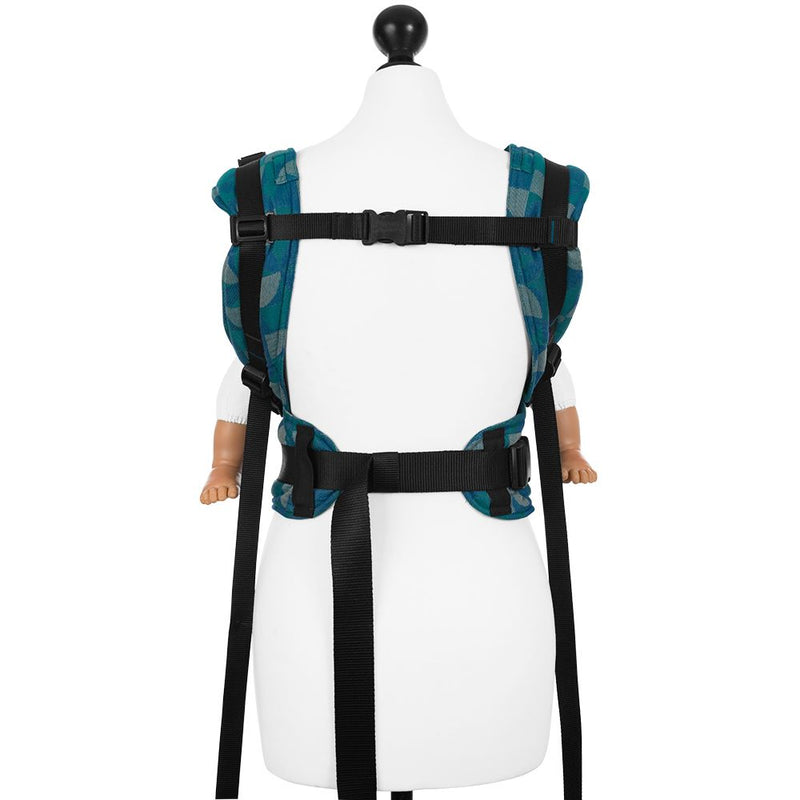 Fidella Kaleidoscope Oceal Teal Fusion Soft Structured Carrier