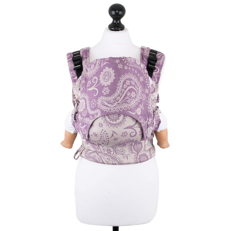 Fidella Persian Paisley Orchid Baby Size Fusion Soft Structured Carrier