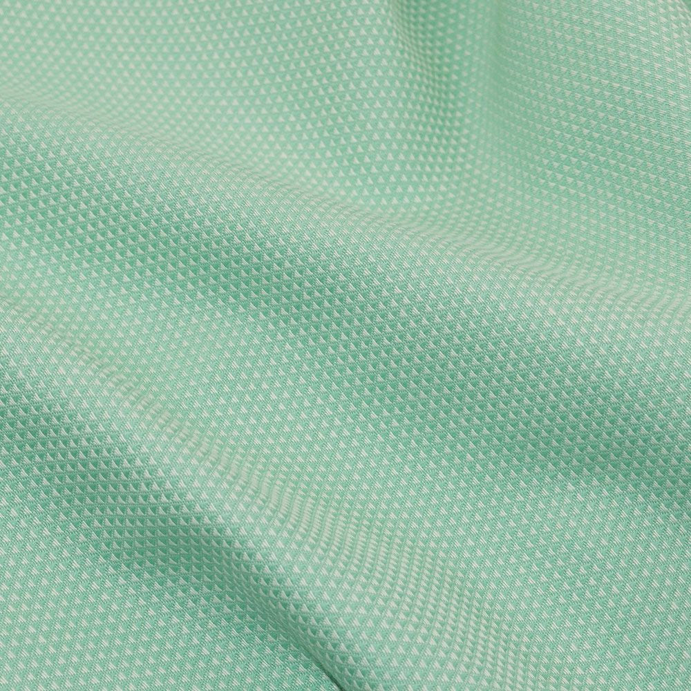 Fidella Triangle Pattern Seafoam Ring Sling (organic cotton)