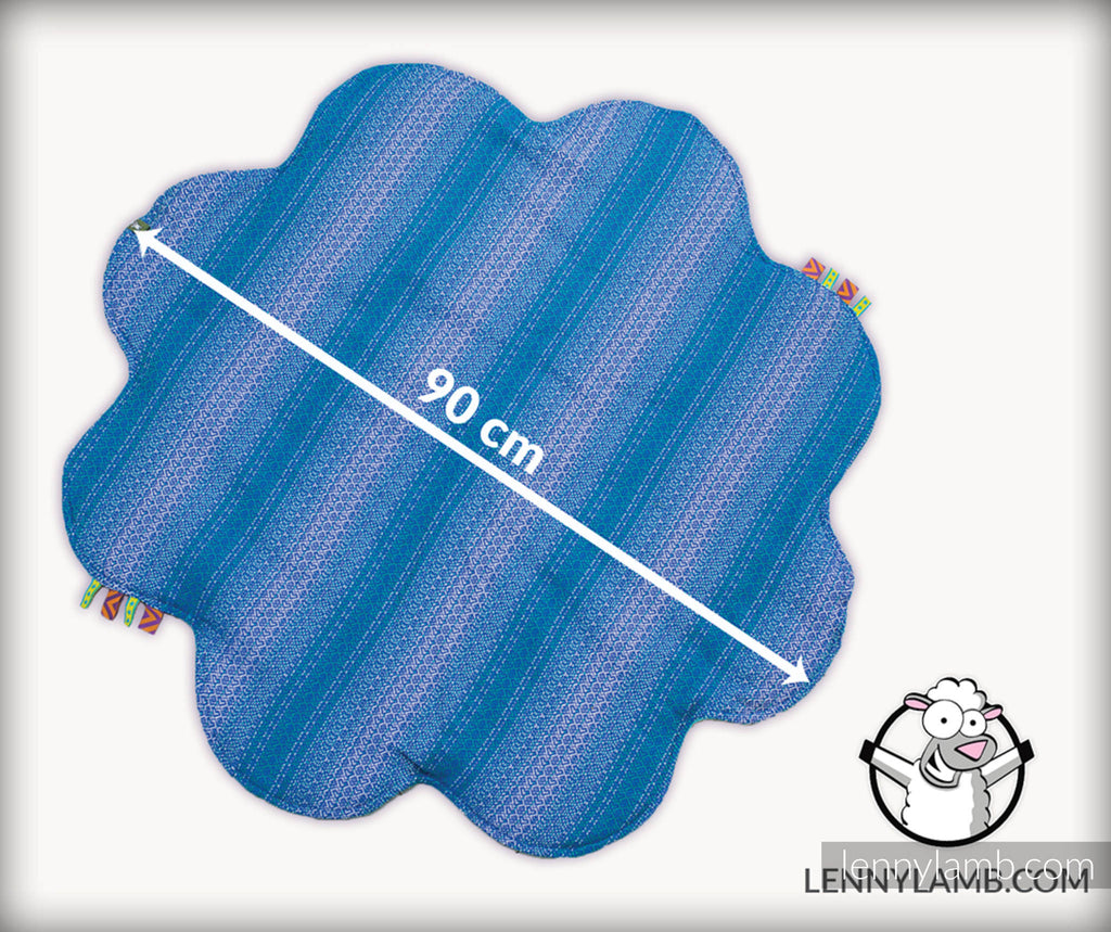 Lenny Lamb Baby Mat - Colors of Fantasy